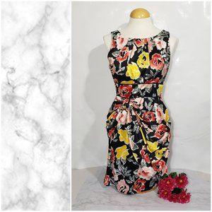 Teeze Me High Waist Floral Dress Medium